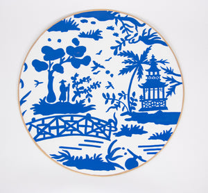 Blue & White Placemat
