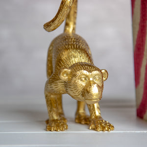 Gold Monkey Bookends