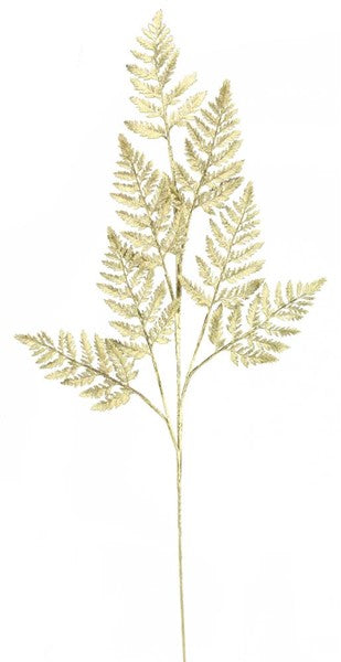 Metallic Fern Grass Spray
