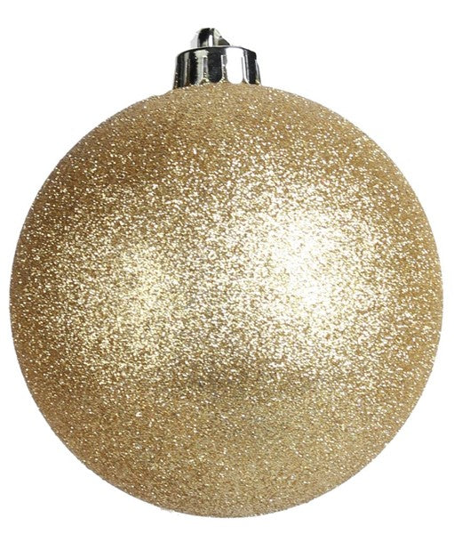 Glittered Ball Gold