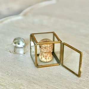Glass Cork Safe