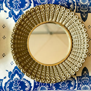 Gold Dot Mirror