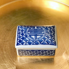Blue & White Trinket Box