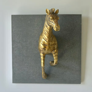 African Safari Animal Plaque