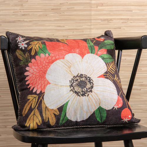 Flower Pillow -  Indoor/Outdoor