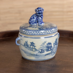 Foo Dog Tea Caddy