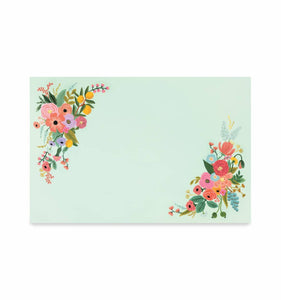 Garden Party Placemats/Set of 24
