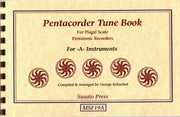 1039 - Pentacorder Tune Book for -A- Instruments by George Kelischek [MSF19A]