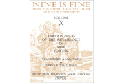 1010a -  Nine is Fine - Vol X - Various Renaissance Pieces [SUP10]