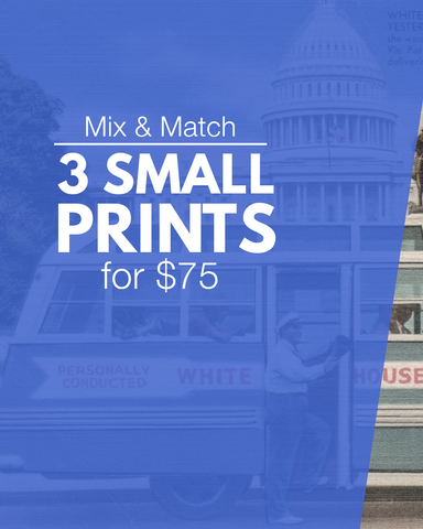 3 small prints for $75
