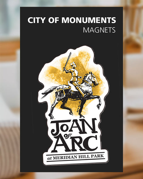 Joan of Arc - Magnet - City of Monuments