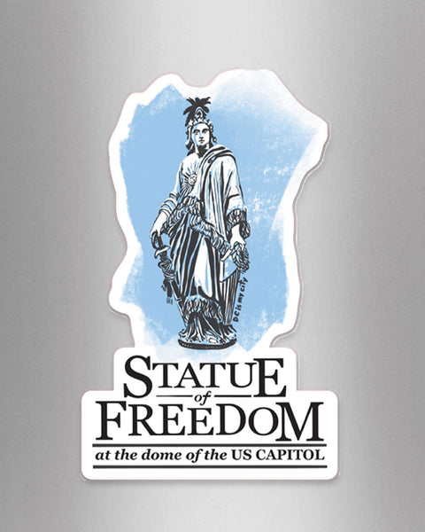 Statue of Freedom - Magnet - City of Monuments