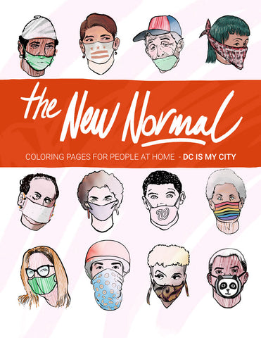 THE NEW NORMAL coloring book