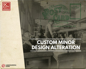 Custom Minor Design Alteration - Prints and Postcards