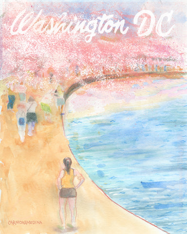 Cherry Blossom at the Tidal Basin [#10]