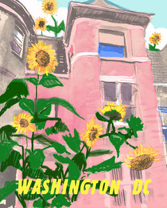 Sunflowers and Row Houses [#82]