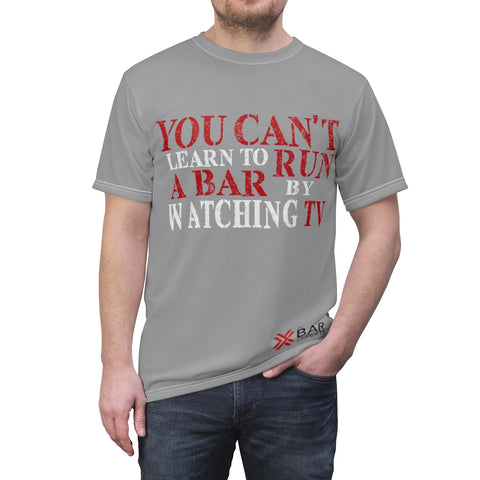 You Can't Learn To Run A Bar By Watching TV