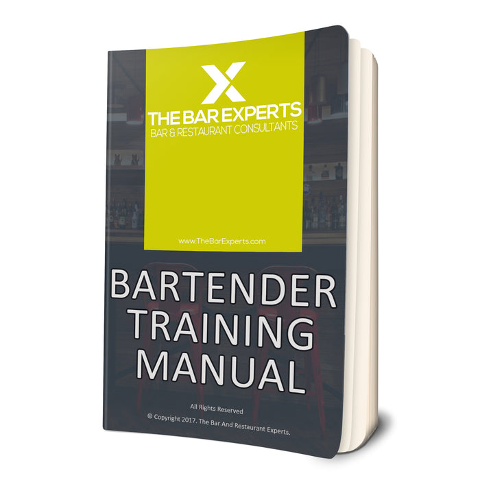 Free Bartender Training Manual - Locked PDF