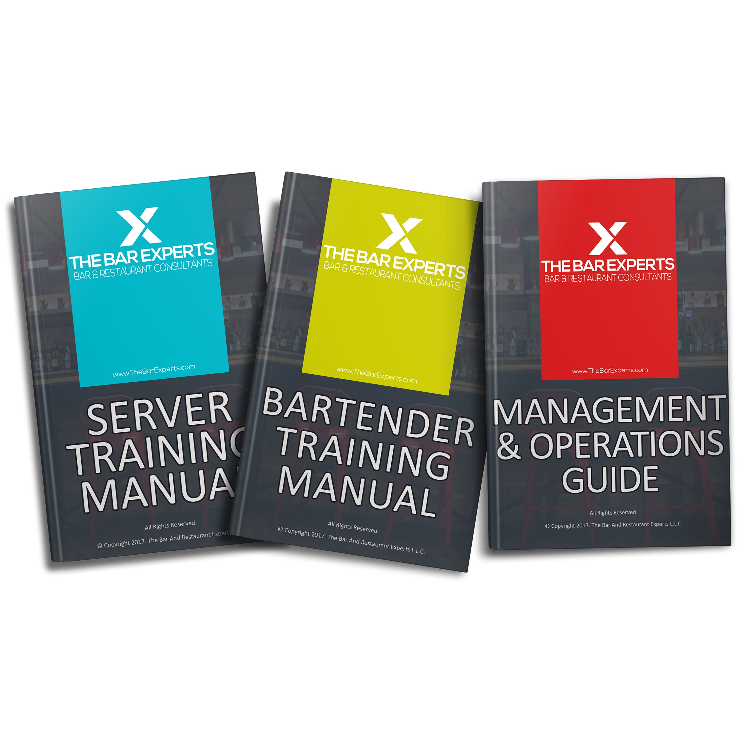 Custom Bar and Restaurant Manuals