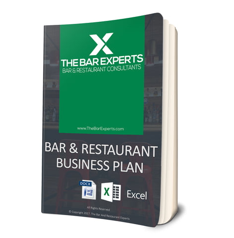Bar and Restaurant Business Plan - Editable Word and Excel Files