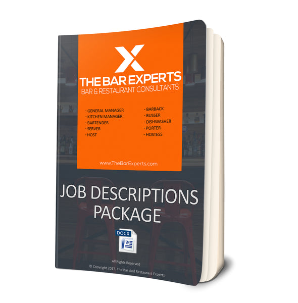 Job Descriptions Package - Editable Word Files