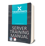 Server Training Manual - Editable Word Doc