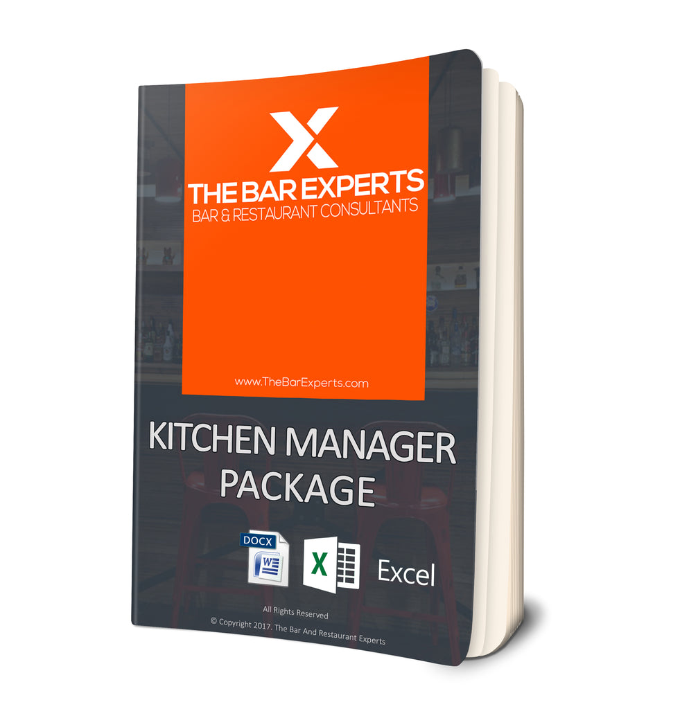 kitchen manager package 1 ounce publishing company - Kitchen Manager