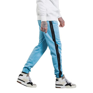 Autumn Mens Sweatpants - Blue Black / L - Sweatpants