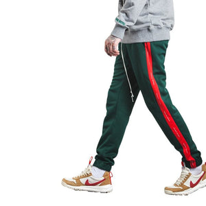 Autumn Mens Sweatpants - Green Red / L - Sweatpants