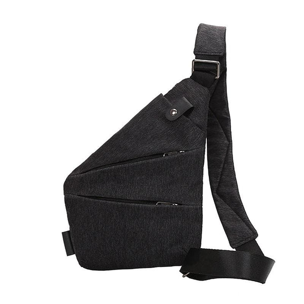 Simple Shoulder Bag - Black - Shoulder Bag