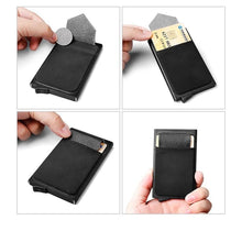 Slim Card Holder With Rfid Blocking Technology - Accesories