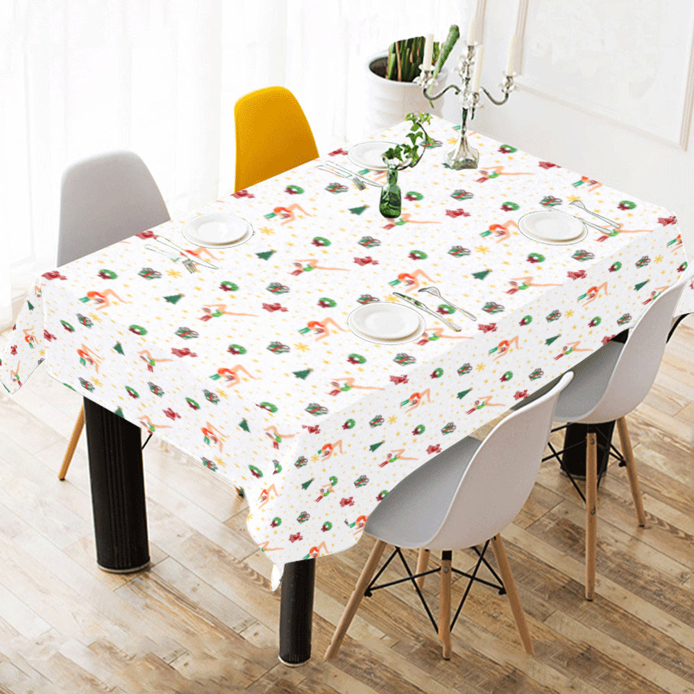 Christmas Cotton Table Cloth