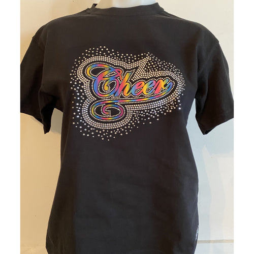 Rhinestone Cheer T-Shirt