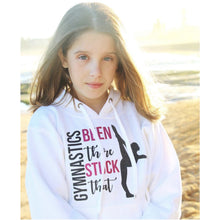 Been There Stuck That Gymnastics Gymnast Hoodie White