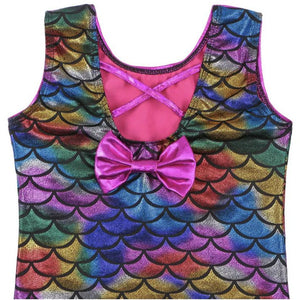 Colourful Mermaid Scales Leotard