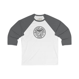 Blacktop Junkie Seal 3/4 Sleeve Baseball Tee