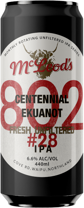 802 #28 Unfiltered IPA