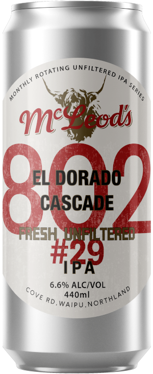 802 #29 Unfiltered IPA