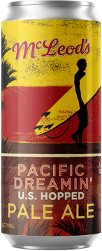 Pacific Dreamin' U.S. Hopped Pale Ale