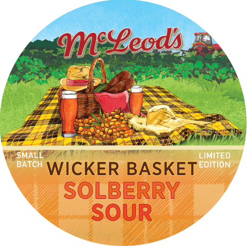 Wicker Basket Solberry Sour