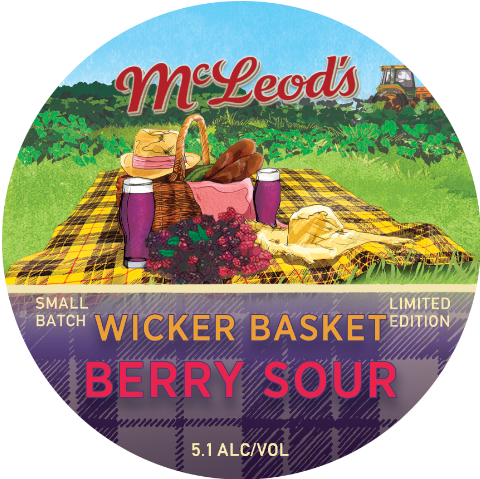 Wicker Basket Berry Sour