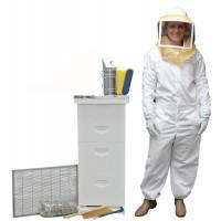 DELUXE STARTER BEEHIVE WITH SUIT