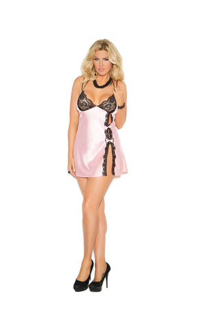 Satin Charmeuse Babydoll (Plus Available) - Twilight Silk