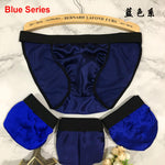 Men's Silk Bikini Briefs - Twilight Silk