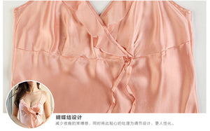 Luxurious Pure Silk Chemise - Twilight Silk