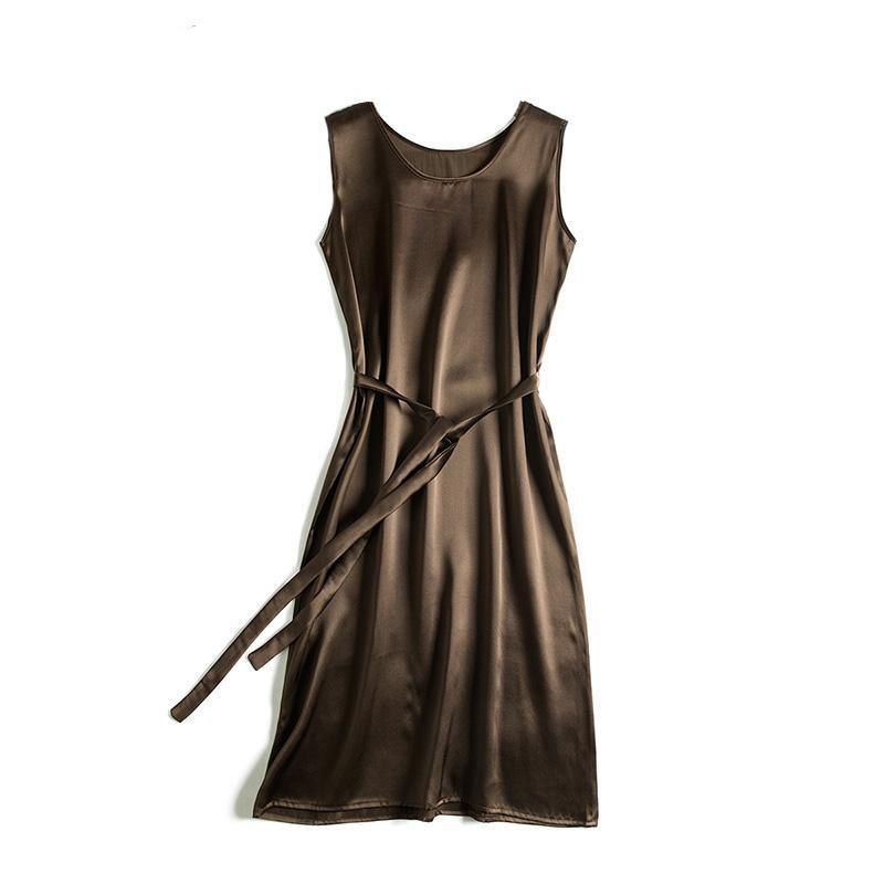 Classic 100% Silk dress - Twilight Silk