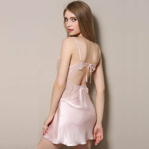 Silky Satin Chemise Nighty - Twilight Silk