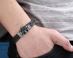 **FREE** High Quality Leather Cobra Bracelet - cobrajewel