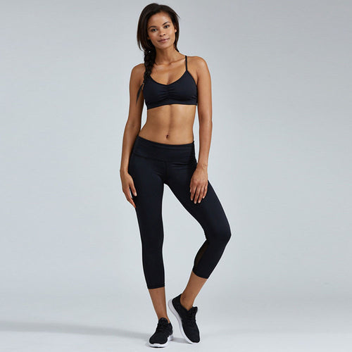 Capri Black Yoga Pants