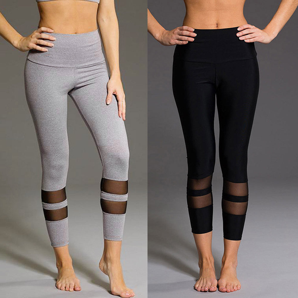 High Waist Lil Cutout Yoga Pants